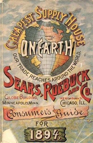 ترجمه کاتالوگ | جلد کاتالوگ شرکت سی یرز- ریباک و شرکا، 1894
