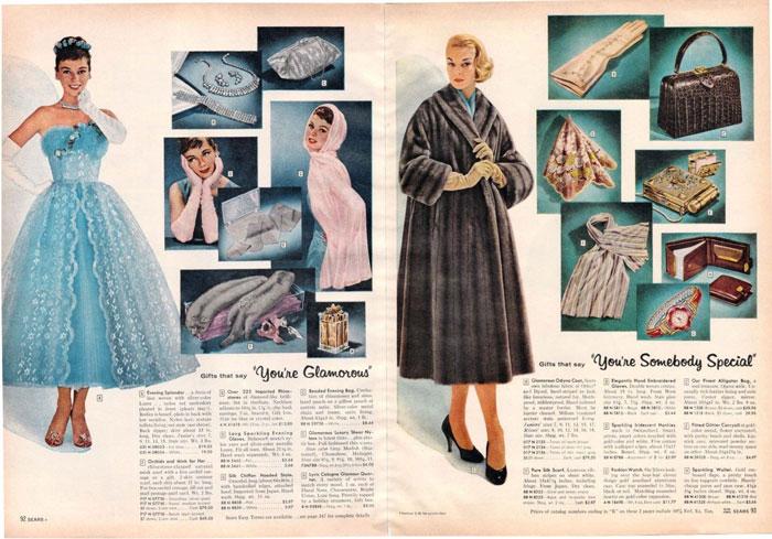 ترجمه کاتالوگ | صفحات 92 و 93 از کاتالوگ کریسمس شرکت سی یرز، 1957