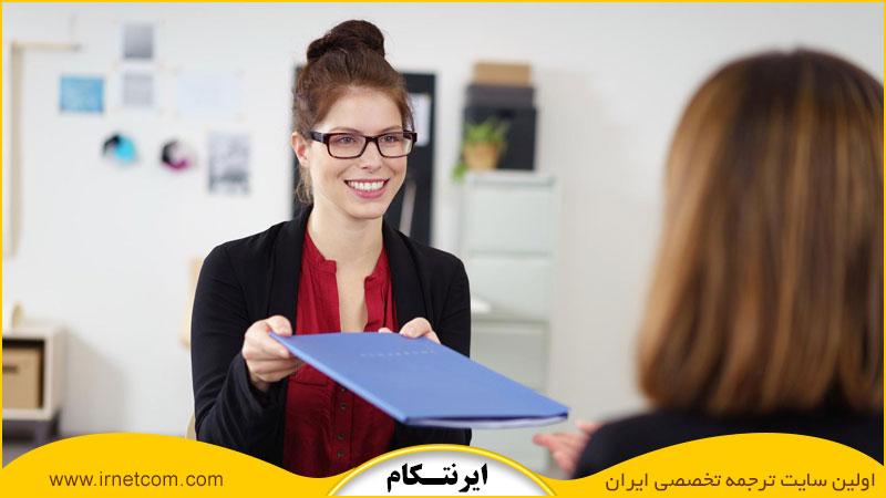 رفتار دانشجو در جلسه مصاحبه دکتری